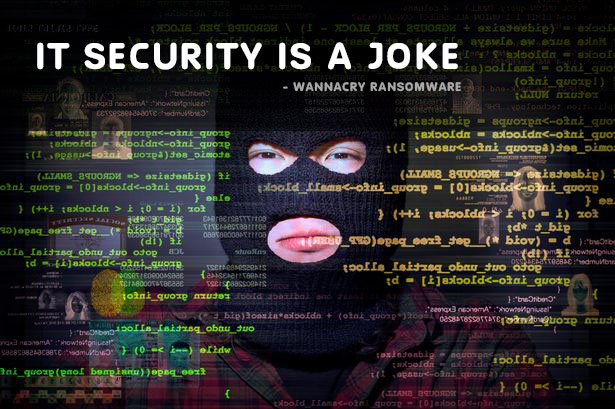 it security is a joke wannacry