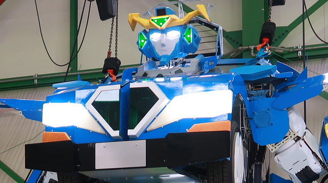 j deite robot pertama transformasi