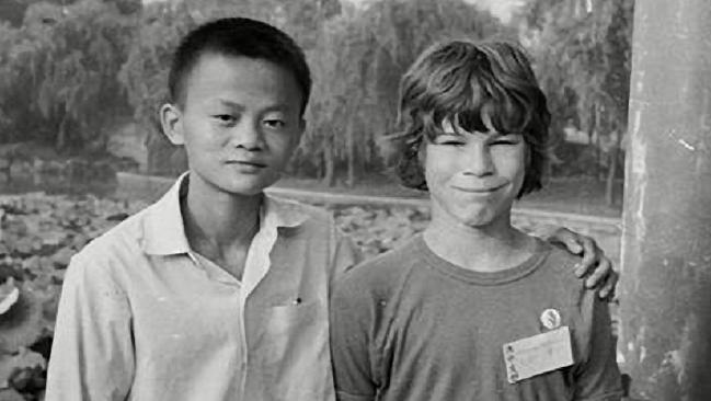 jack ma david morley hang zhou 1980