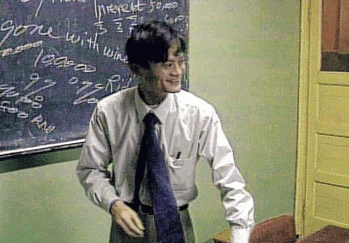 jack ma ketika menjadi seorang guru