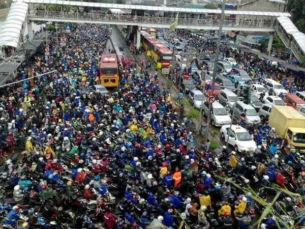 jakarta trafik sesak paling teruk dalam dunia