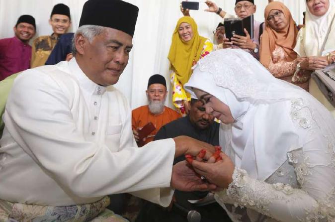 jalaluddin hassan selamat nikah kali kedua 1