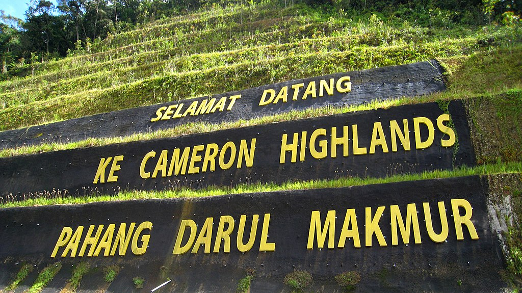 jalan ke cameron highlands