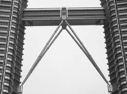 jambatan klcc siap