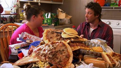 jamie oliver juga menjelajah amerika untuk memulakan revolusi makanan di sana