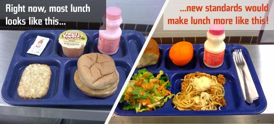 jamie telah berjaya menukar standard makanan di kantin sekolah