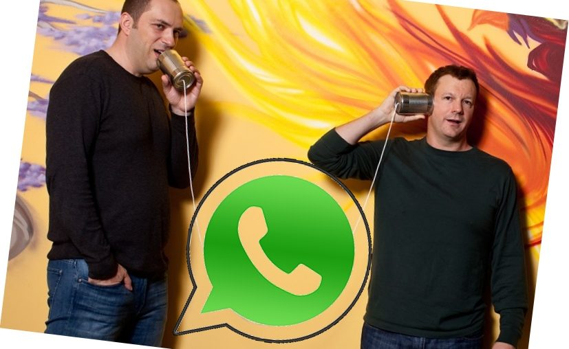 jan koum dan brian action pengasas whatsapp inc