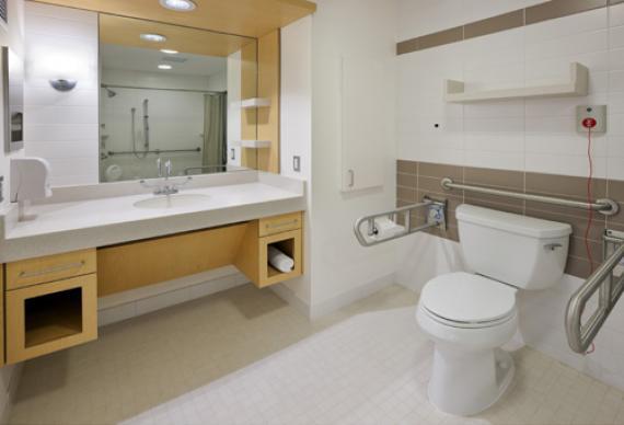 jangan guna toilet pesakit di hospital kalau anda perlu pergi toilet cari toilet awam di luar wad