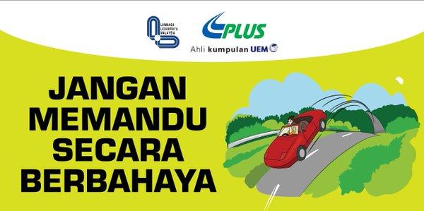 jangan memandu secara berbahaya