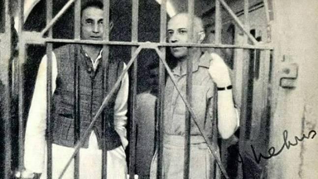 jawaharlal nehru pemimpin dipenjarakan