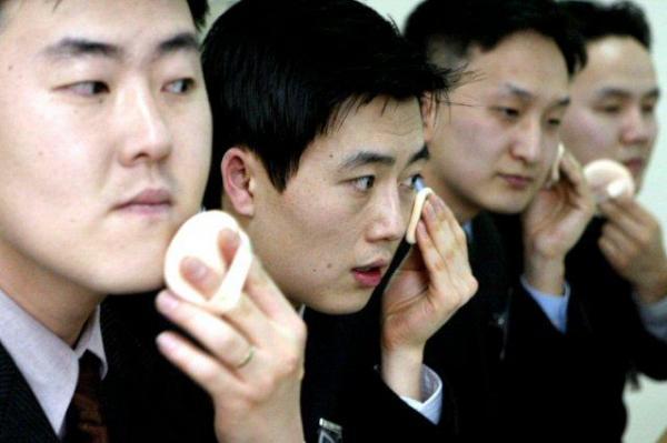 jejaka korea bersolek