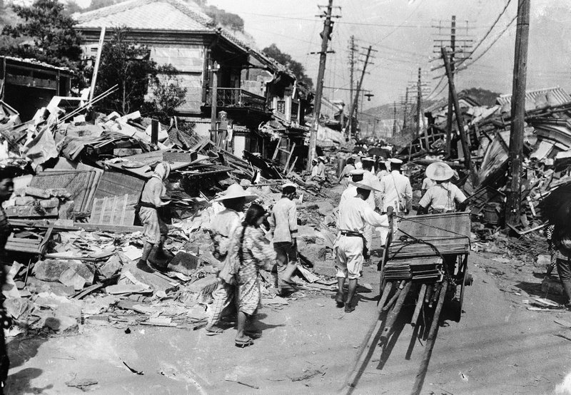 jepun gempa bumi gempa bumi terkuat asia