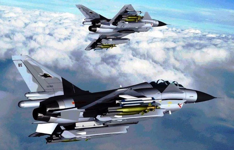 jet pejuang jenis chengdu j 10