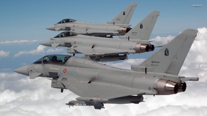 jet pejuang jenis eurofighter typhoon