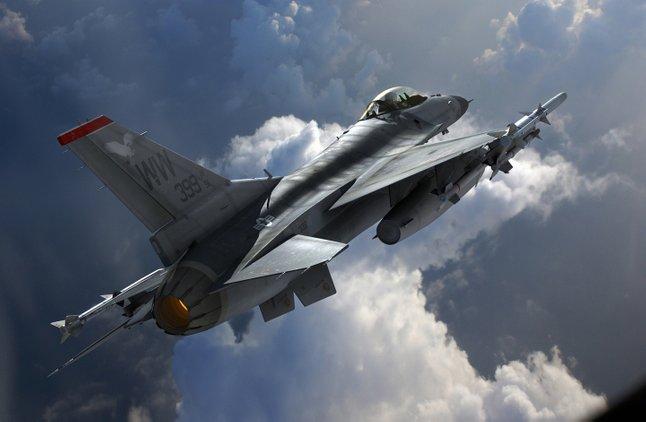 jet pejuang model f 16