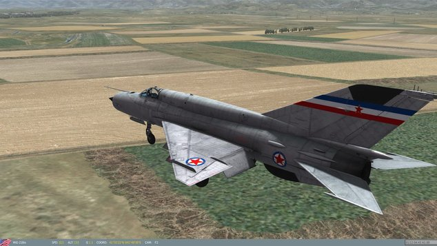 jet pejuang tentera yugoslavia