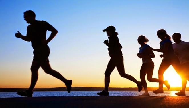 jogging berkumpulan