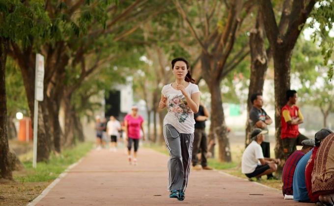 jogging dapat jumpa awek berhenti merokok