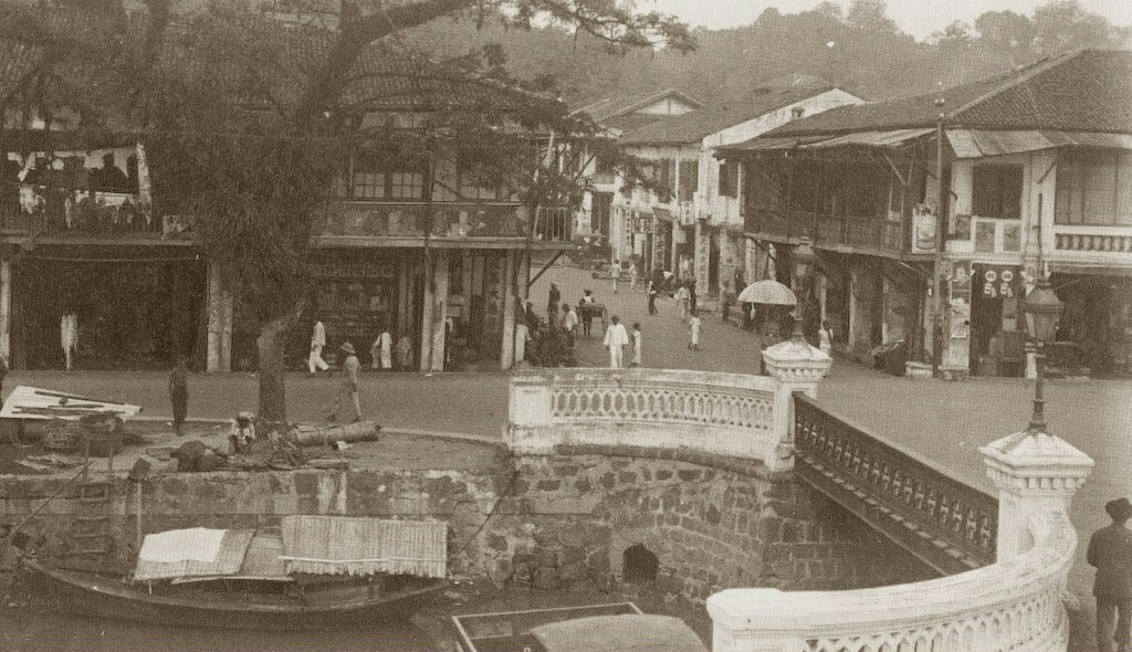 johor bahru town in the 1920s