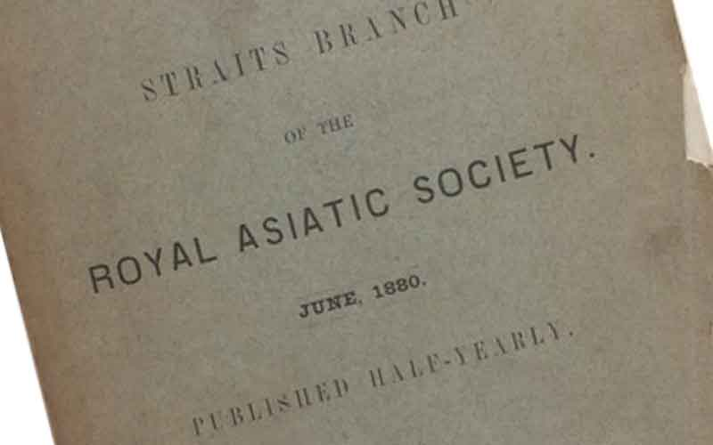 journal asiatic society