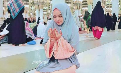 joy revfa berdoa di masjid nabawi membelakangkan kiblat 1
