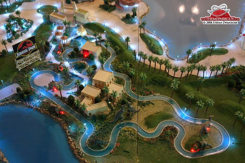 jurassic park melaka