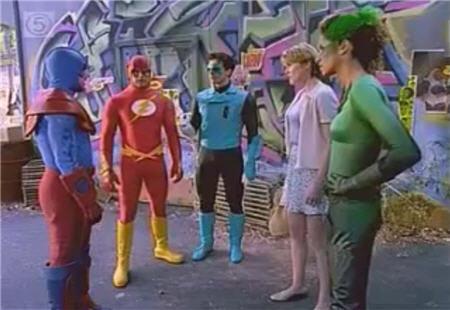 justice league berkumpul