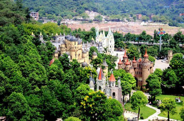 jutawan china membina istana fairytale eropah