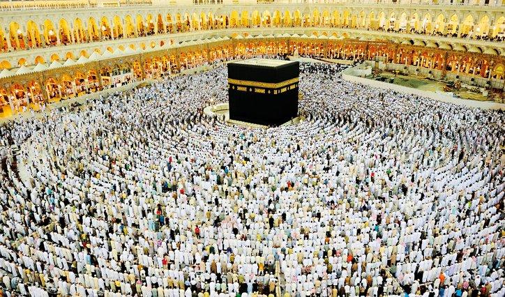 kaabah pusat keagamaan umat islam