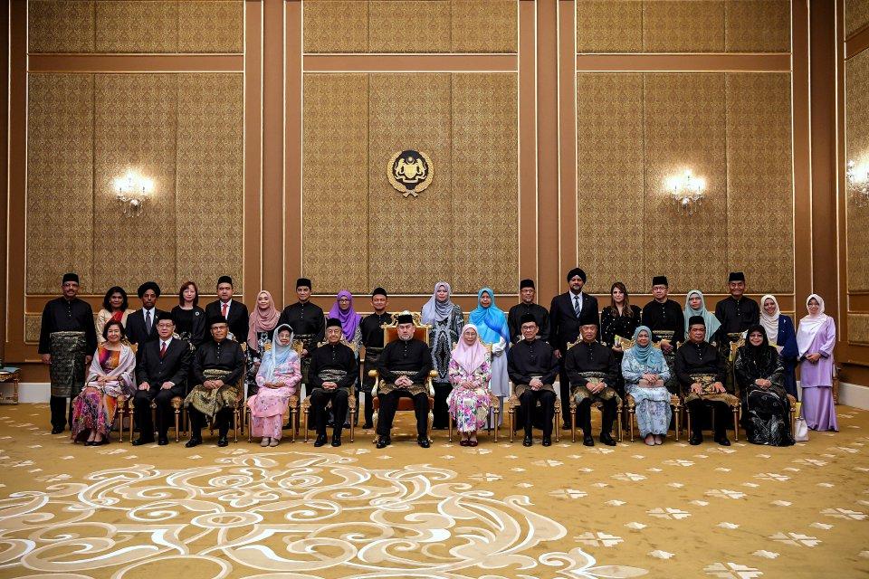 kabinet kerajaan pakatan harapan 2018