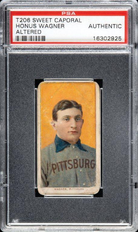 kad besbol honus wagner paling mahal pernah dijual di ebay