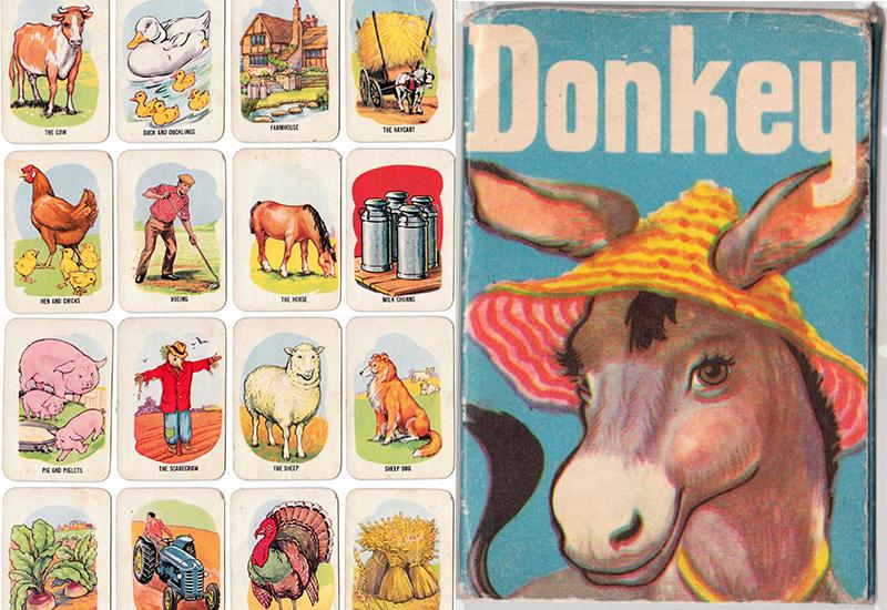 kad permainan donkey