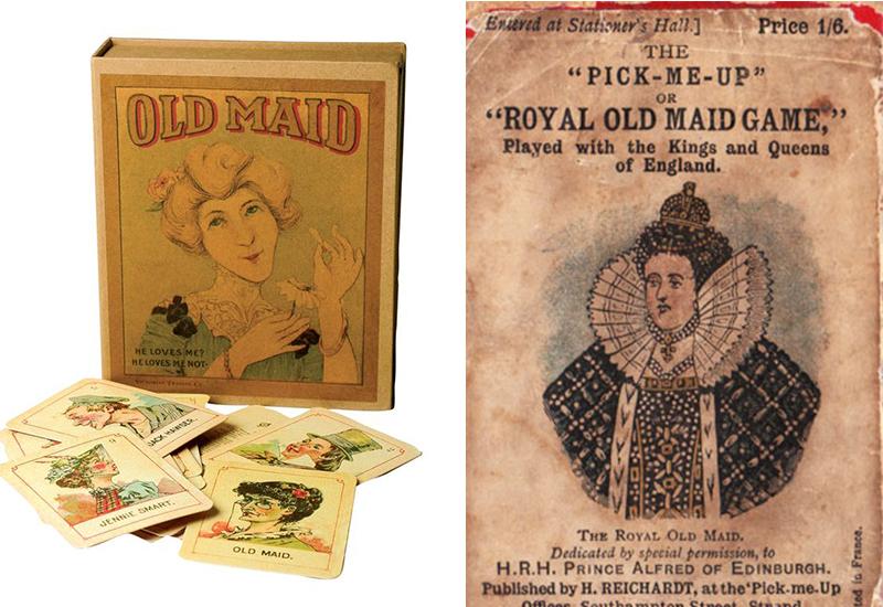 kad permainan old maid