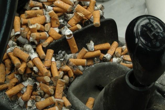 kalau ashtray dah jadi macam ni mungkin anda perlu tukar kereta baru