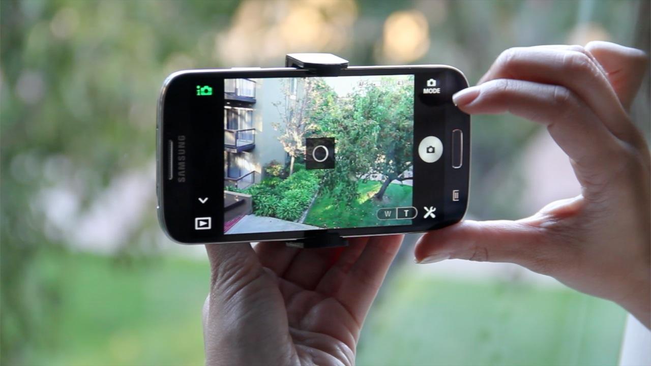 kamera pada telefon pintar