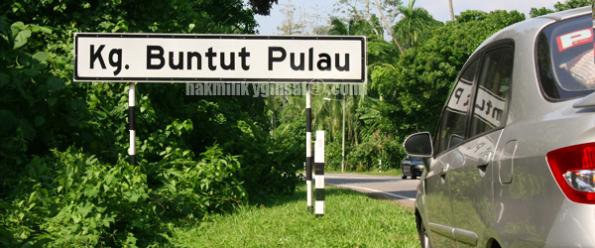 kampung buntut pulau pelik nama tempat unik