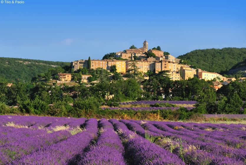 kampung desa paling indah cantik di dunia simiane la rotonde france