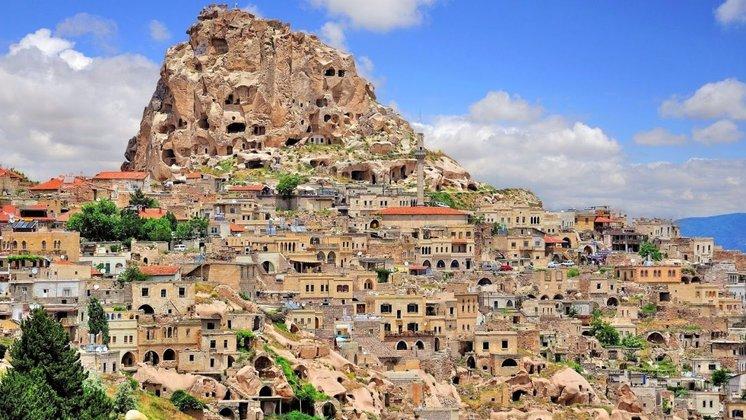 kampung desa paling indah cantik di dunia uchisar turki