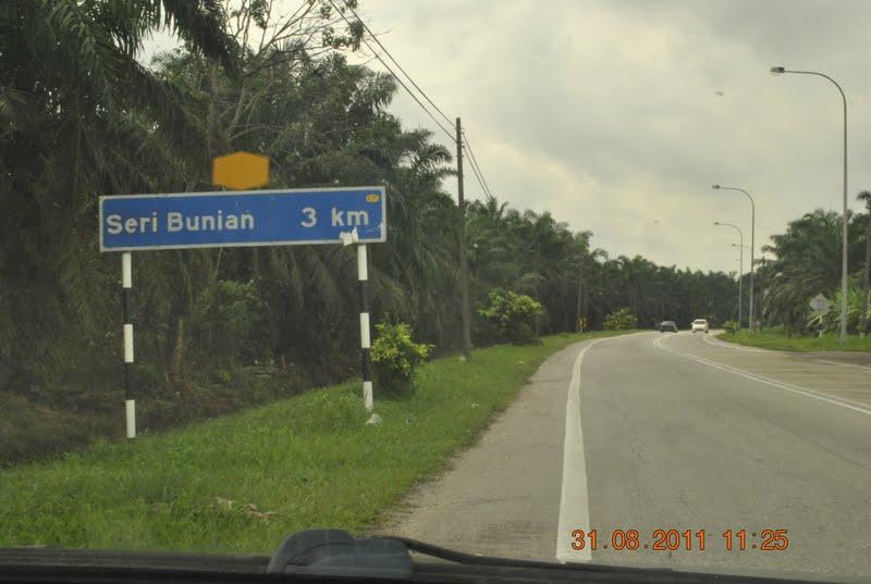 kampung seri bunian nama tempat unik malaysia
