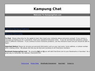 kampungchat laman sosial malaysia yang popular satu ketika dahulu 2