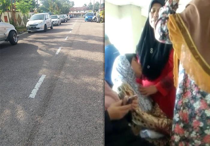 kanak kanak 3 tahun temui ajal akibat diseret kereta ibu sendiri