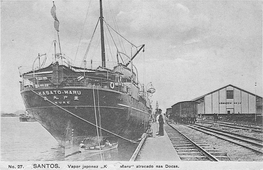 kapal imigran jepun