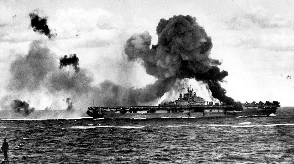 kapal perang as musnah teruk diserang jepun