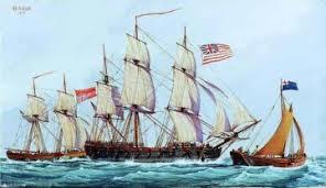 kapal perang british