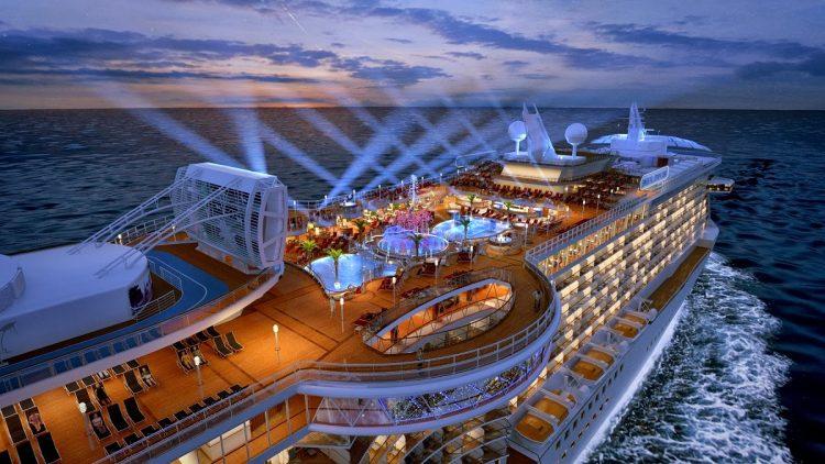 kapal percutian terbesar dunia