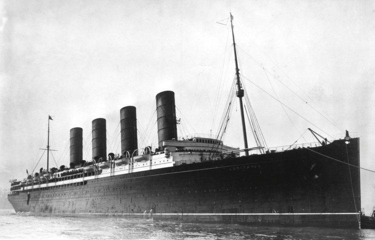 kapal rms lusitania