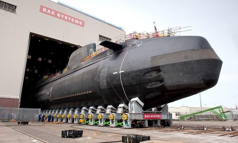kapal selam kelas astute united kingdom 2