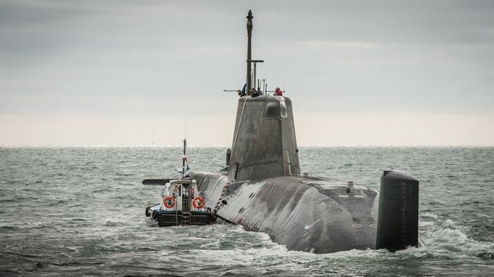 kapal selam kelas astute united kingdom