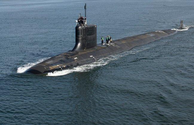 kapal selam kelas virginia amerika syarikat