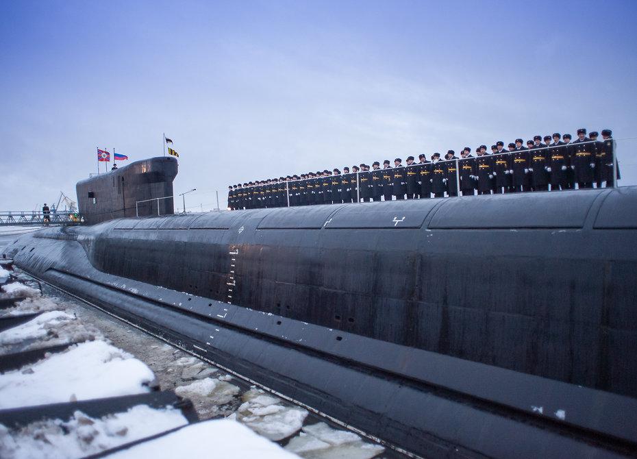 kapal selam kelas yasen rusia